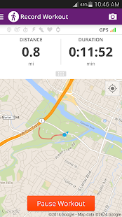 Map My Walk+ GPS Pedometer - screenshot thumbnail