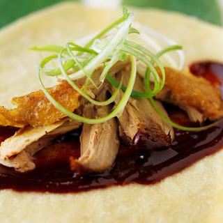 Pancakes With Crispy Peking Duck