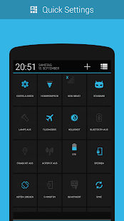CM11/PA Theme - BlueStock- screenshot thumbnail