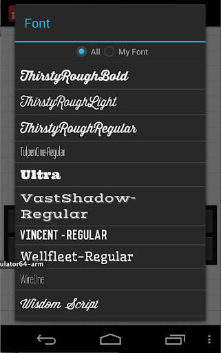 Phonto - Text on Photos 1.7.16 screenshots 4