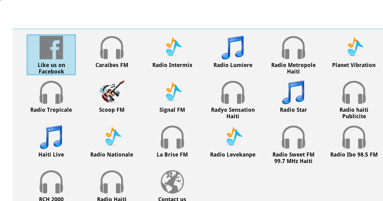 Haiti Radios - screenshot