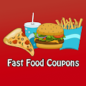 Fast Food Coupons Pizza & More logo