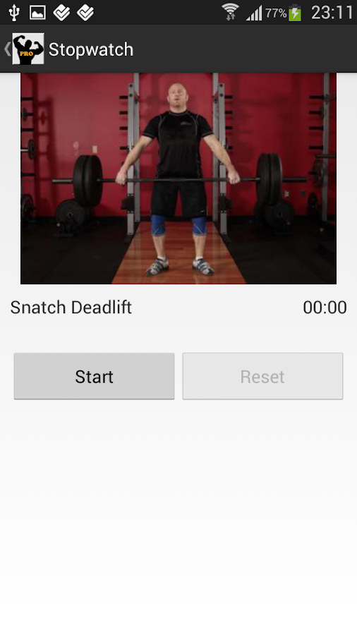 Workout PRO - screenshot