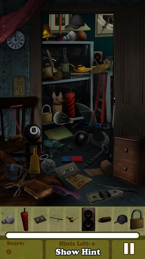 Hidden Object - Haunted House - screenshot