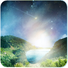 Meteor flying heaven Wallpaper icon