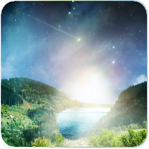 Meteor volar cielo Wallpaper Gratis