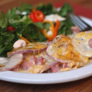 Ham and Turnip Gratin