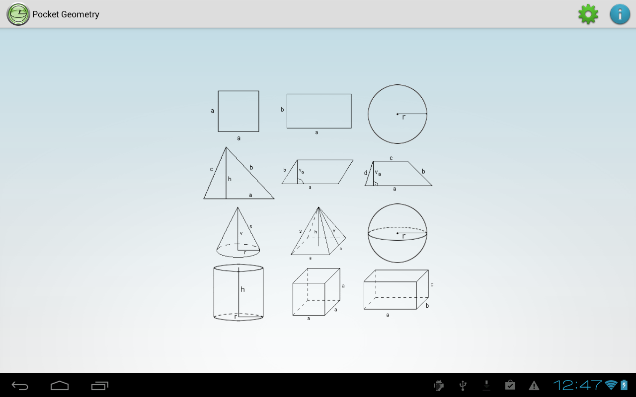 Pocket geometry android apps on google play