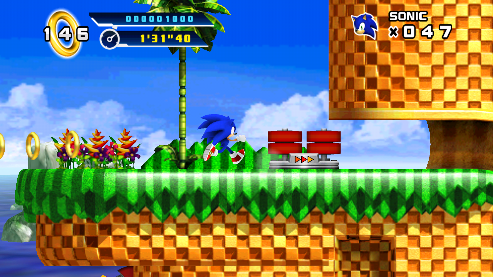 Sonic 4™ Episode I- screenshot