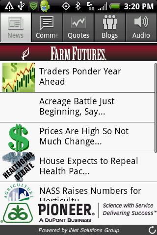 Farm Futures - screenshot