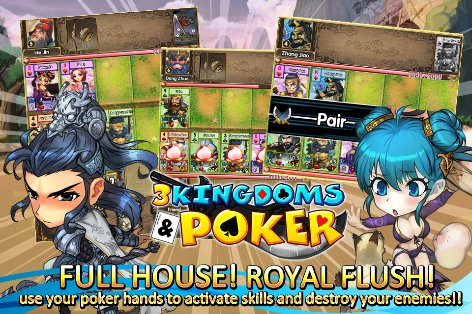 3 Kingdoms and Poker- screenshot