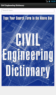 玩免費教育APP|下載Civil Engineering Dictionary app不用錢|硬是要APP