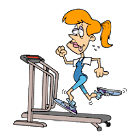 Fetness chart icon