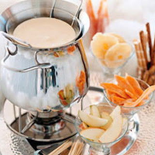 Heavenly White-Chocolate Fondue
