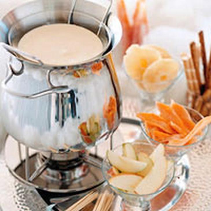 Heavenly White-Chocolate Fondue