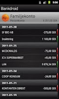 Screenshot of Bankdroid