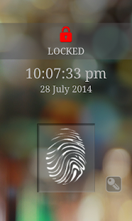 Fingerprint Screen Lock