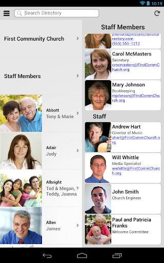 【免費社交App】Instant Church Directory-APP點子