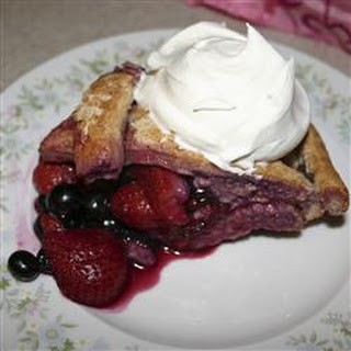 Mixed Berry Pie with Honey Whole Wheat Crust Recipe