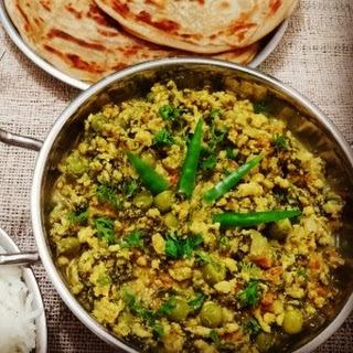 Chicken Methi Keema Recipe - Chicken mince with fenugreek leaves