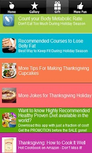 Thanksgiving Recipes & Jokes ♥ - screenshot thumbnail