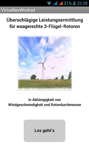 Virtuelles Windrad
