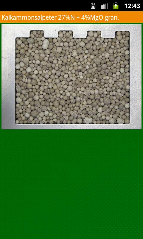 FertiliserService- screenshot