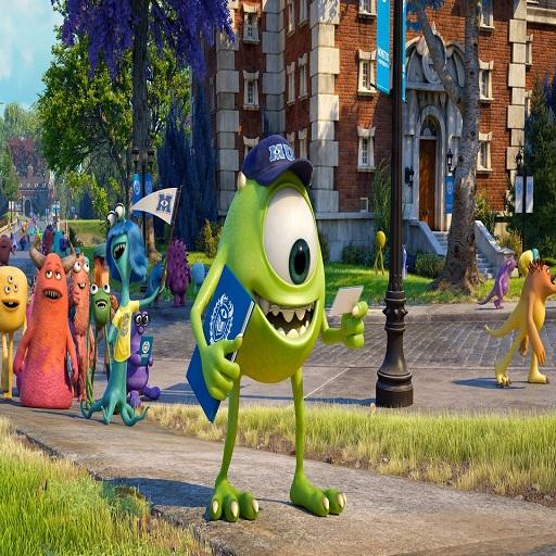 watch monsters university - screenshot
