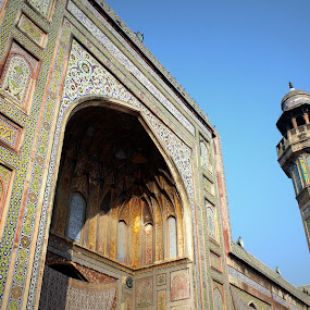 End by Maham Elahi - Buildings & Architecture Other Exteriors ( masjid wazir khan )