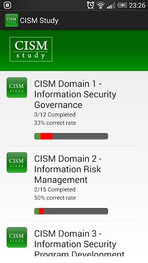 CISM Study Questions 2015