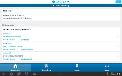 Barclays Zimbabwe - screenshot thumbnail