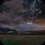 Farm in Thunderstorm Free