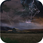 Farm in Thunderstorm Free icon