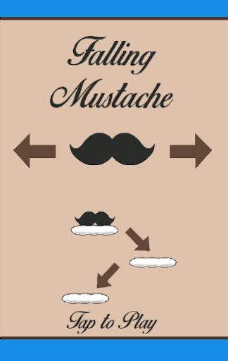 Falling Mustache