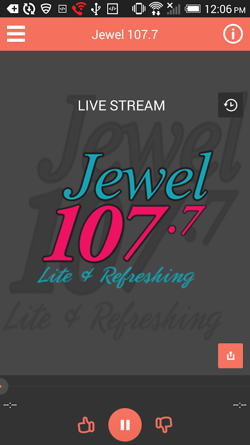 Jewel 107 (107.7)- screenshot