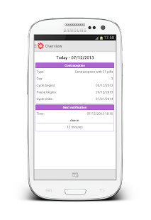 Pill Reminder screenshot for Android