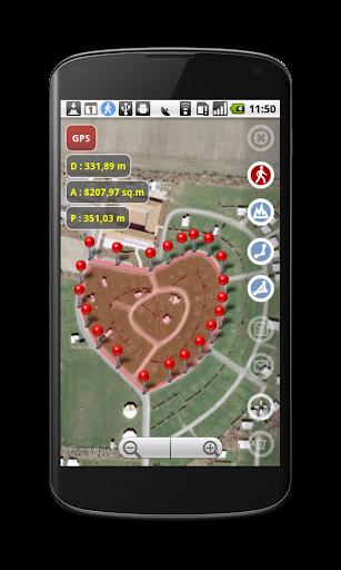 Planimeter - GPS面積測量