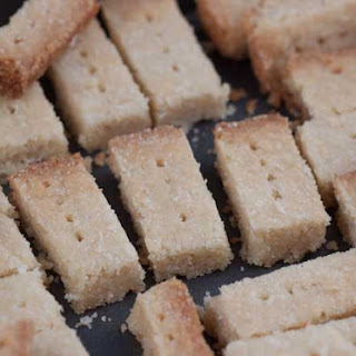 Scottish Shortbread Fingers