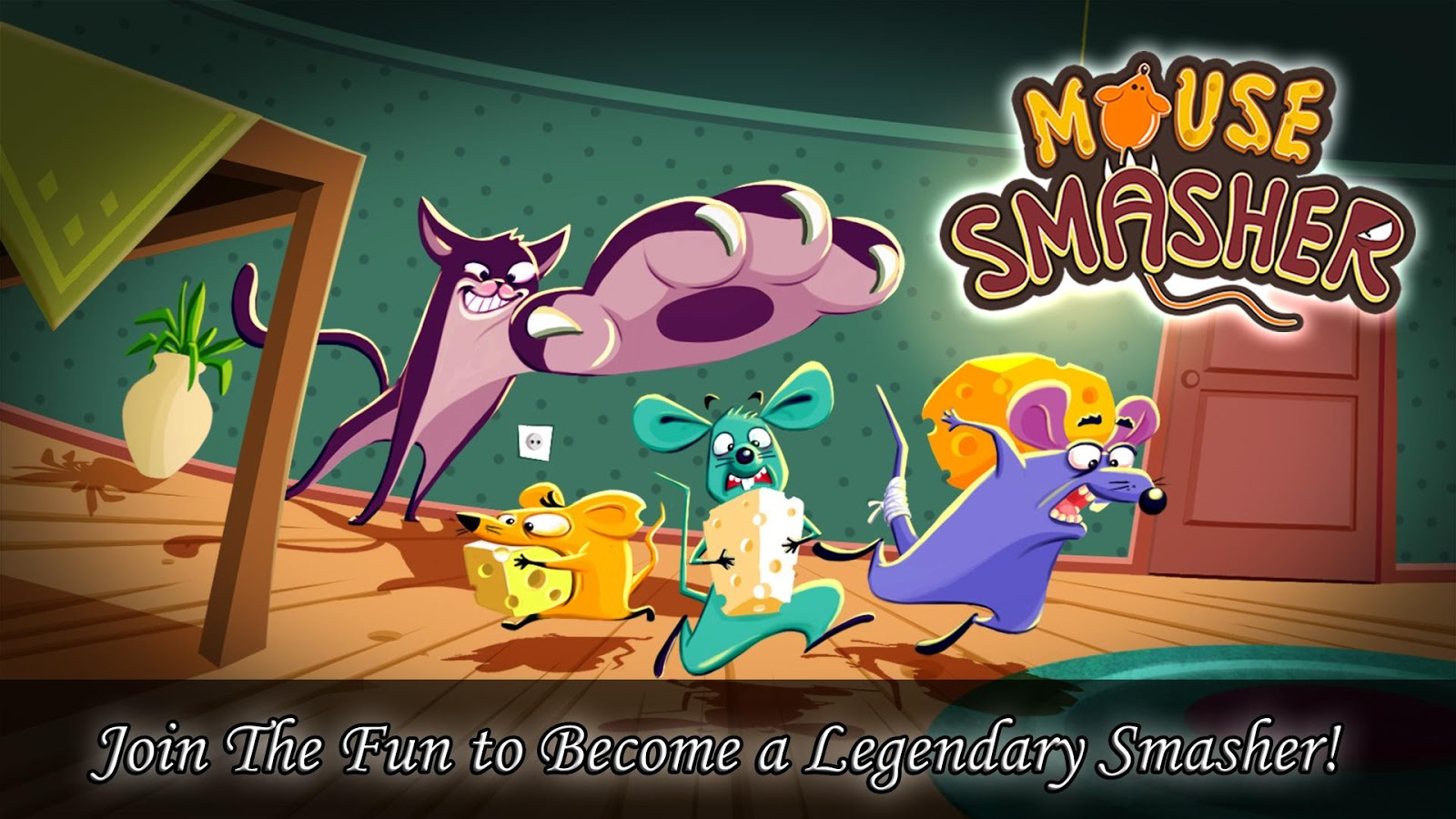 Mouse Smasher FREE Game - screenshot
