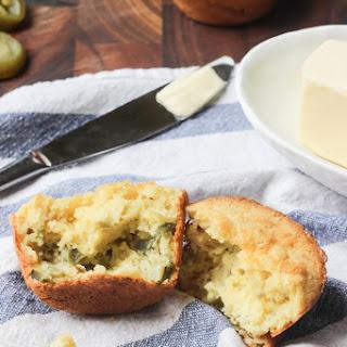"""Paleo Jalapeño """"Cornbread"""" Muffins"""