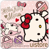 mimo.×HELLO KITTY LWallpaper