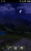 Screenshot of Mountain Weather LWP