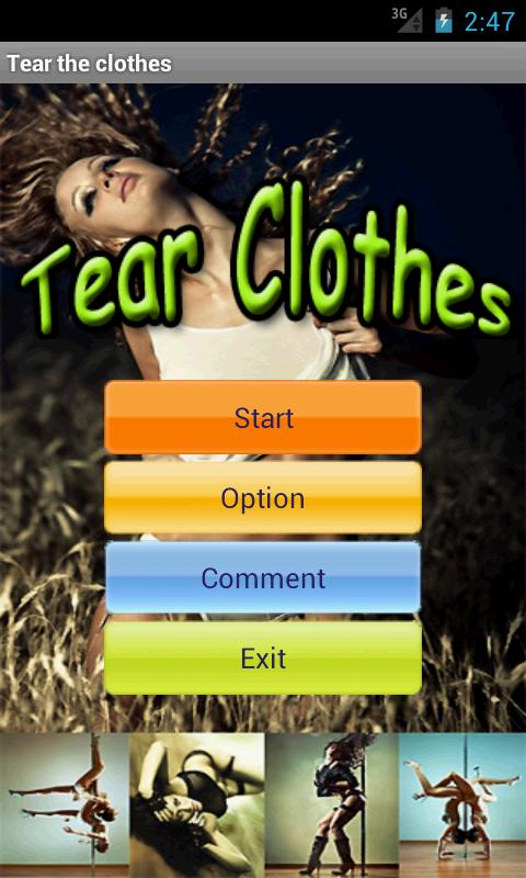 Tear sexy girl's clothes - screenshot