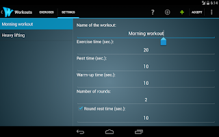Screenshot of Wrkout Pro 50% off HIIT/Tabata