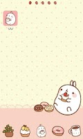 Screenshot of 고런처 몰랑이도넛 테마