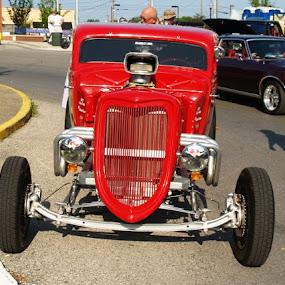 red thunder by Dan Bartlett - Transportation Automobiles (  )
