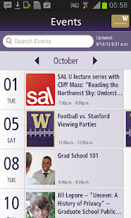 UW Alumni Association - screenshot thumbnail