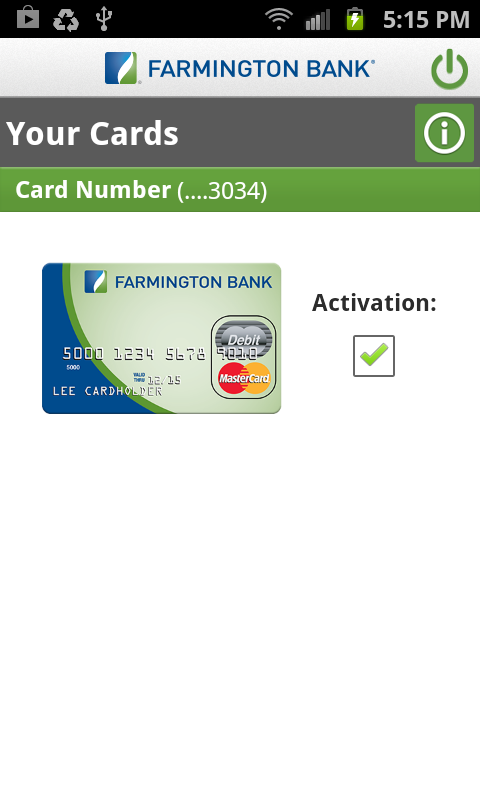 Farmington Bank - screenshot