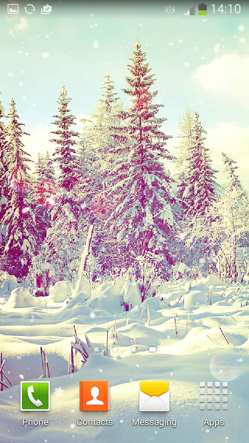 Winter Live Wallpaper- screenshot