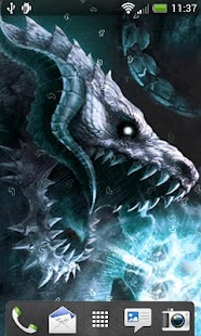 Dragons Live Wallpaper - screenshot thumbnail